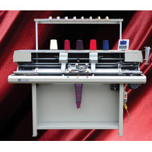 Máquina de confecção de malhas plana