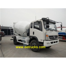 Dayun 4000 Liters Mini Cement Trucks