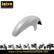 ABS Motorcycle White Painted Front Fender Fits for Ybr125