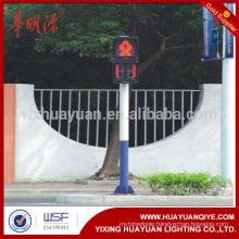 3m galvanized traffic light pole, signal light application
