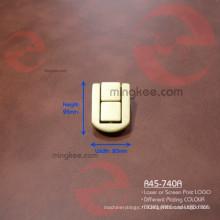 Logo laser personnalisé sur la serrure de la boîte à bijoux