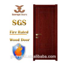 Alta calidad BS476 insonorizada clasificación de incendios Puerta de madera