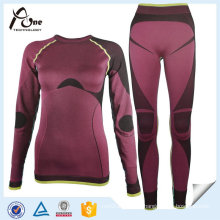 Custom Women Thermal Underwear Seamless Long Johns