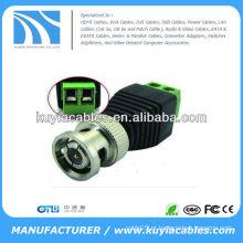 CAT5 para coaxial BNC Video Balun Conector CCTV Camera