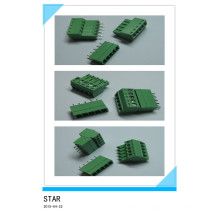 3.5mm 5 Pin/Way Green Pluggable Type Screw Terminal Block Connector