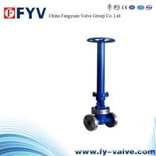 API 600/602 Válvula de compuerta criogénica atornillada / soldada