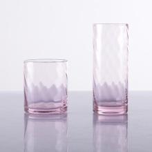 Ручной дуть HB Pink Water Glass Розовые стаканы