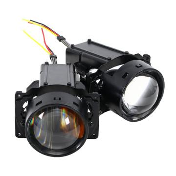 Lente de vidrio LED Chip 140W Luz de lente automotriz