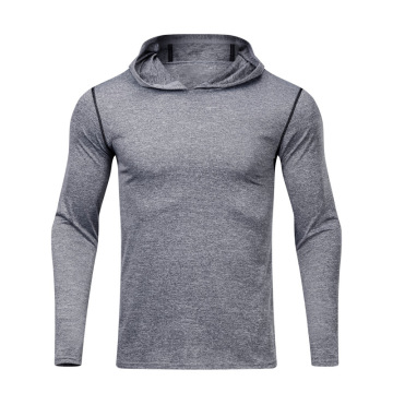 Hommes Hoodies Compression Shirt