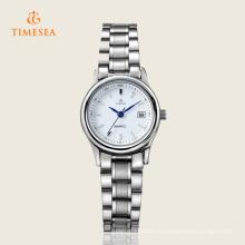 Reloj de la marca del acero inoxidable de la manera del cuarzo para las señoras 71131