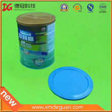 Taille fixe habituelle dans l'utilisation de boîtes en poudre de lait Couvercle en plastique
