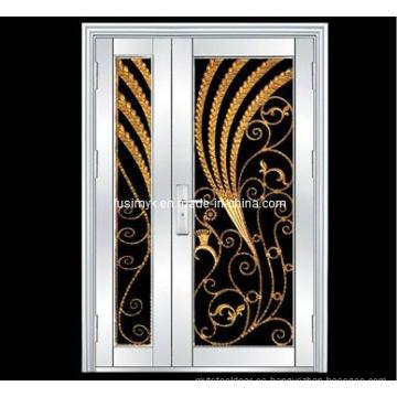 Puertas de acero inoxidable (FX-5019)