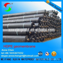 Membrane imperméable en polyéthylène noir
