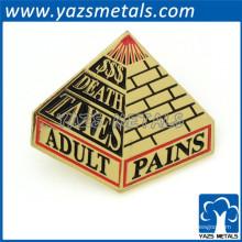 Insignias personalizadas de promoción pin de solapa