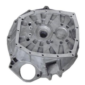 Alumínio Die Casting Machinery Bottom Cover