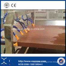 Máquina plástica de la tarjeta de la espuma del PVC WPC
