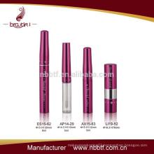 2015 Hot pink girls cosmetic sets with mascara eyeliner bottles
