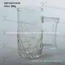 460ml Copo de cerveja de vidro agradável Moda