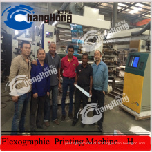 4 couleurs Offest Paper Flexo Printing Machine (CE)