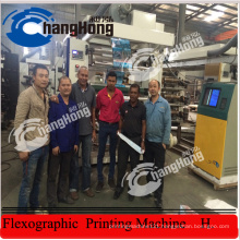4 Colour Offest Paper Flexo Printing Machine (CE)