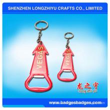 Red Bottle Opener Souvenir Key Chain
