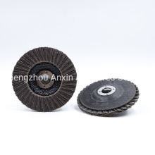 Double Fitted Flaps Pattern Abrasive Disc for Grinding Stainless Steel