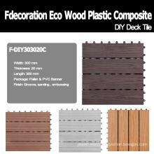 Interlock WPC Decking DIY Decking Wood Plastic Composite Decking