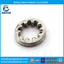 DIN6797 Зубчатая шайба из нержавеющей стали, внутренняя зубная шайба