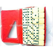 Domino-Set mit PVC-Hülle