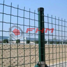 PVC-belagd Holland Fence of Welded Wire