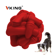 Резиновый неразрушимый мяч для чистки зубов для жевания домашних животных
