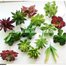 2016Hot sell artificial plant artificial small potted succulent plants decor mini plants