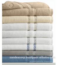 Long bath towels
