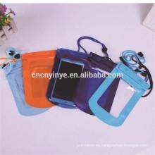 bolso de bum impermeable flotante teléfono celular