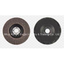 4′′ Calcination Oxide Flap Abrasive Discs (Fibre glass cover 22*16mm)