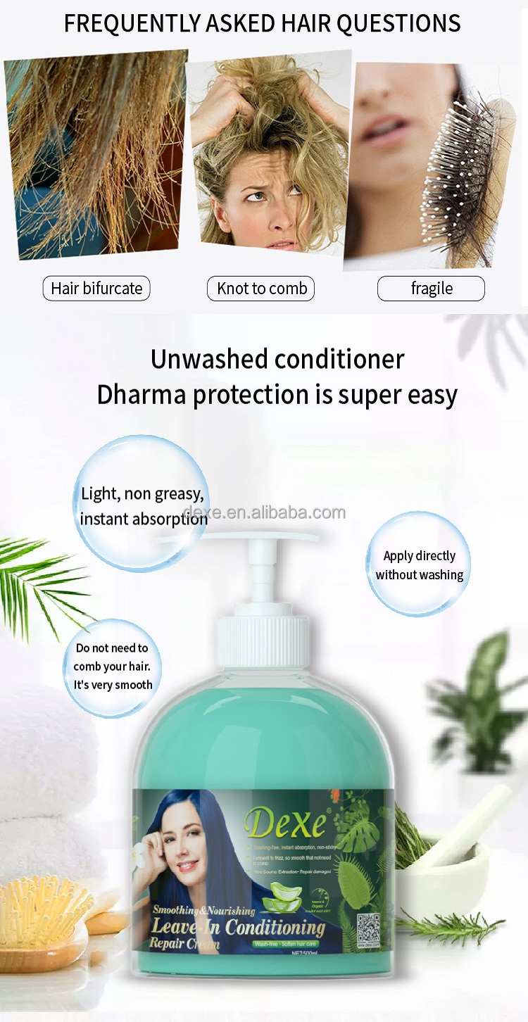 free wash leave in conditioner