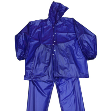 Mens impermeable de PVC
