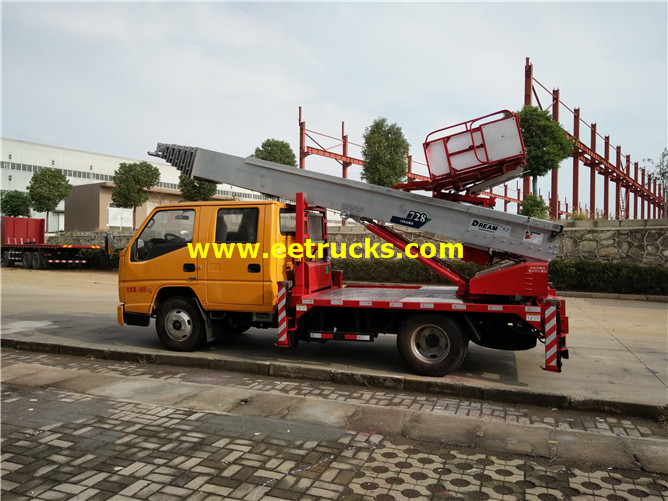 Truck bed Man Platform
