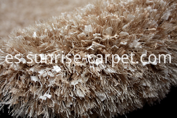 Butterfly & Silk Mix Shaggy Rug