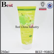 Emballage de tube cosmétique vide coloré de 250ml à vendre