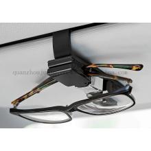 Clip de lunettes de soleil de lunettes de vue de carte de visite de voiture d'OEM