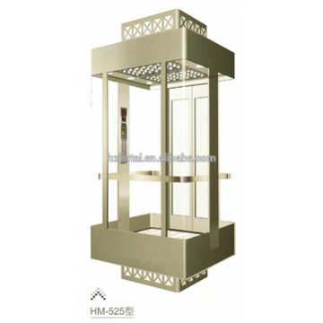 Hot sale comercial panoramic glass elevator