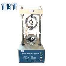 Bitume TBT Asphalte Marshall Stabilité Test Machine prix marshall test asphalte