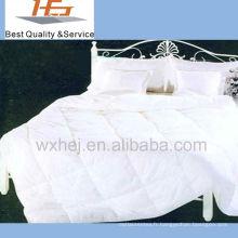Couette 100% coton blanc patchwork