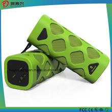 Coluna Bluetooth Portátil com Microfone Integrado (Verde)