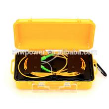 Оптоволоконный рефлектометр 500M / 1KM Запуск кабельной коробки с разъемом SC / LC / ST / FC, оптическим блоком OTDR Launch Fiber