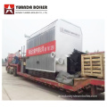 Wood Logs Hot Oil Boiler لصناعة المطاط