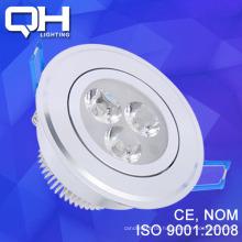 Heißer Verkauf 3W LED Decke Strahler Aluminium