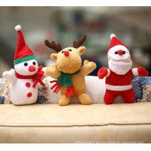 2015 recién llegado de muñeco de nieve Christmas Eve Apple Bag