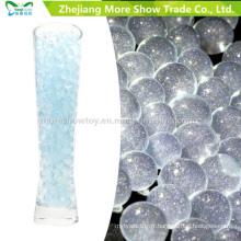 Perles de gel de sol de cristal de paillettes bleues décoration de mariage